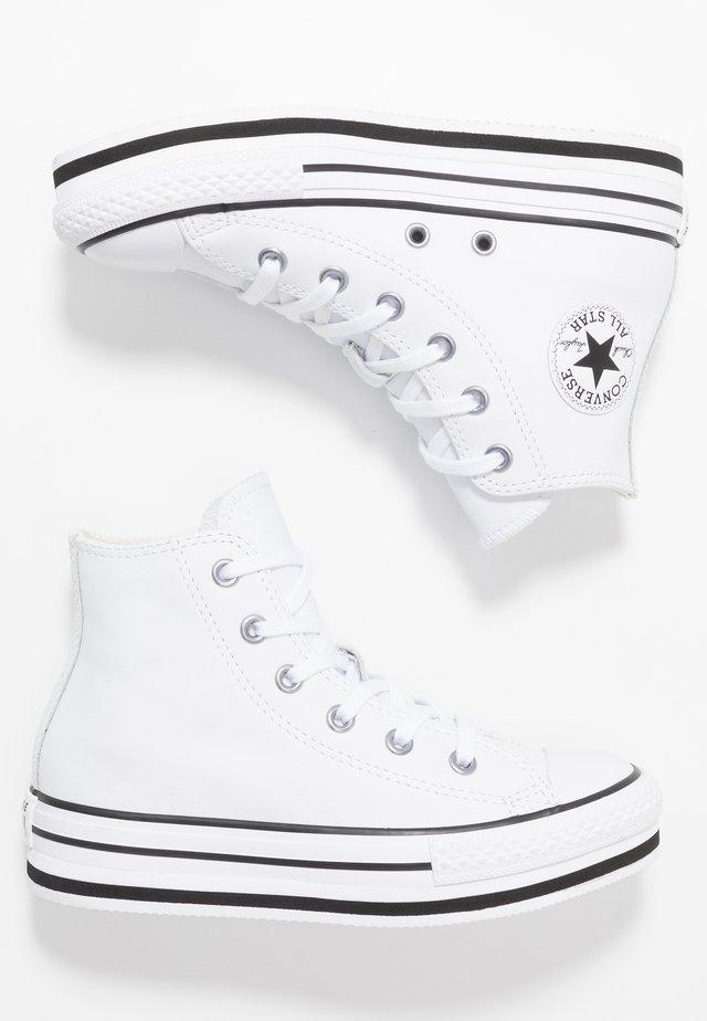 CHUCK TAYLOR ALL STAR PLATFORM - Zapatillas altas - white/black