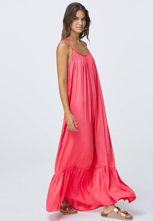 Długa sukienka - rose