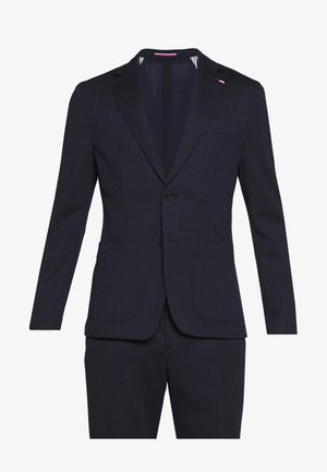 PACKABLE SLIM FLEX STRIPE SUIT - Jakkesæt - blue