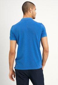 Marc O'Polo - SHORT SLEEVE RIB DETAILS - Polo shirt - waterfall - 2