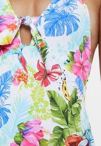 Desigual - HONOLULU - Swimsuit - white - 3