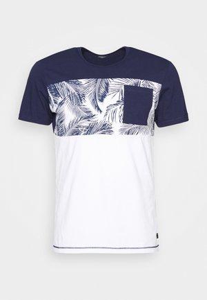 KURZARM - T-shirts med print - blue