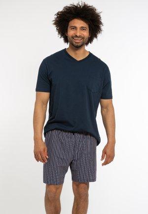 Pyjama set - blau / blau gestreift