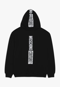 MOSCHINO - HOODED  - Hoodie - black - 1