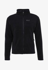 MOONRISE JACKET MEN - Fleece jacket - black