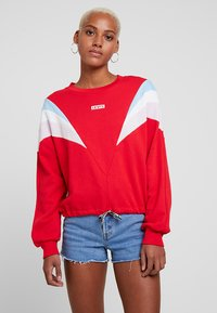 Levi's® - FLORENCE CREW - Sweatshirt - baby tab crew brilliant red - 0