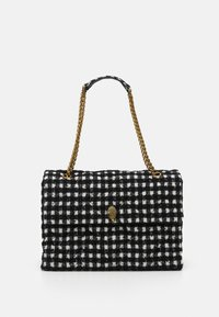 Kurt Geiger London - XXL KENSINGTON BAG - Handbag - black/white - 0