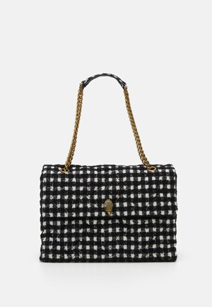 XXL KENSINGTON BAG - Handbag - black/white
