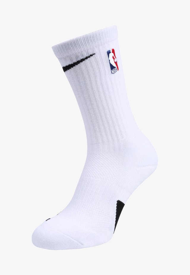 ELITE CREW NBA - Chaussettes de sport - white/black