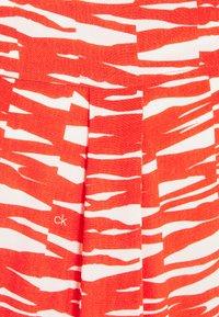 Calvin Klein - SHORT DRESS - Day dress - fiesta/ecru - 6