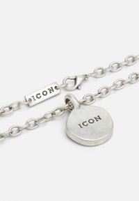 Icon Brand - ROUND COMPOSITE NECKLACE - Ketting - silver-coloured - 1