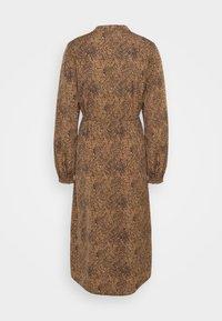 Vila - VIKOLINA TIE STRING DRESS - Day dress - tobacco brown - 7