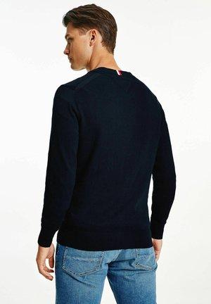 MIT KASCHMIR - Cardigan - stoned blue