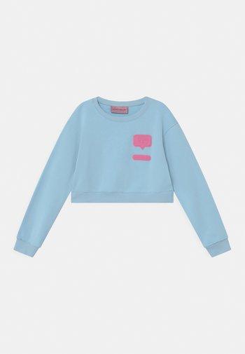 PATCH  - Sweatshirt - baby blue
