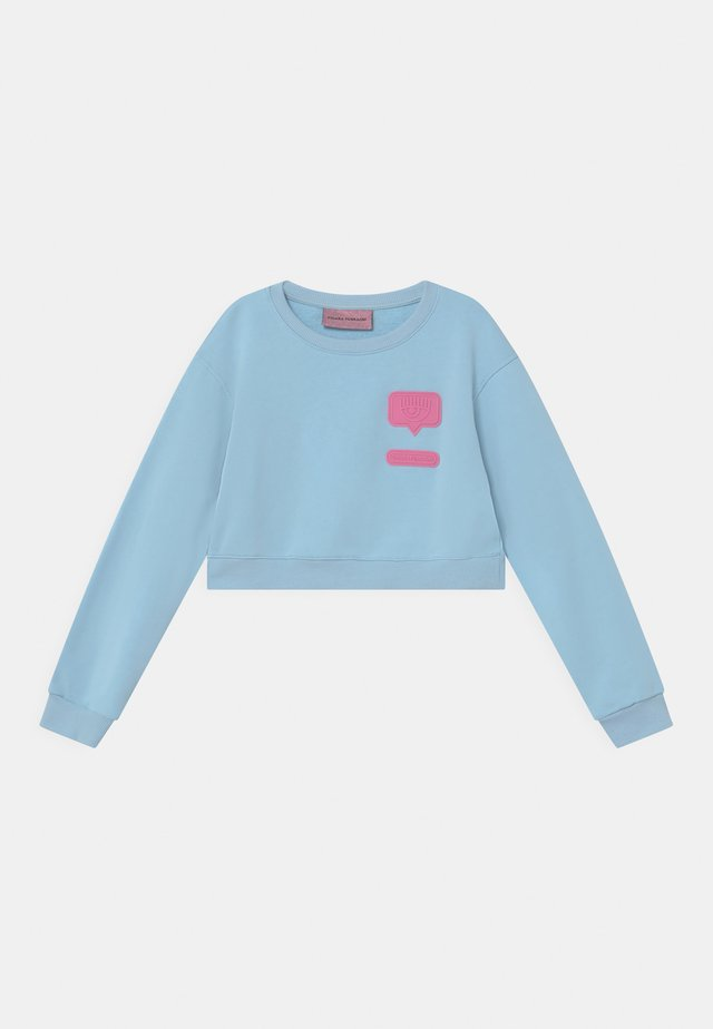 PATCH  - Sweatshirt - baby blue