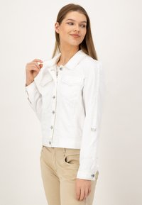 JUST WHITE - Summer jacket - weiss uni - 3