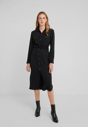 MODERN DRAPE - Denní šaty - polo black