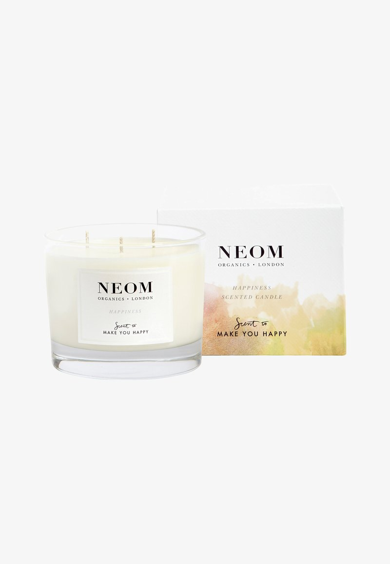 Neom - SCENTED CANDLE 3 WICKS - Scented candle - happiness