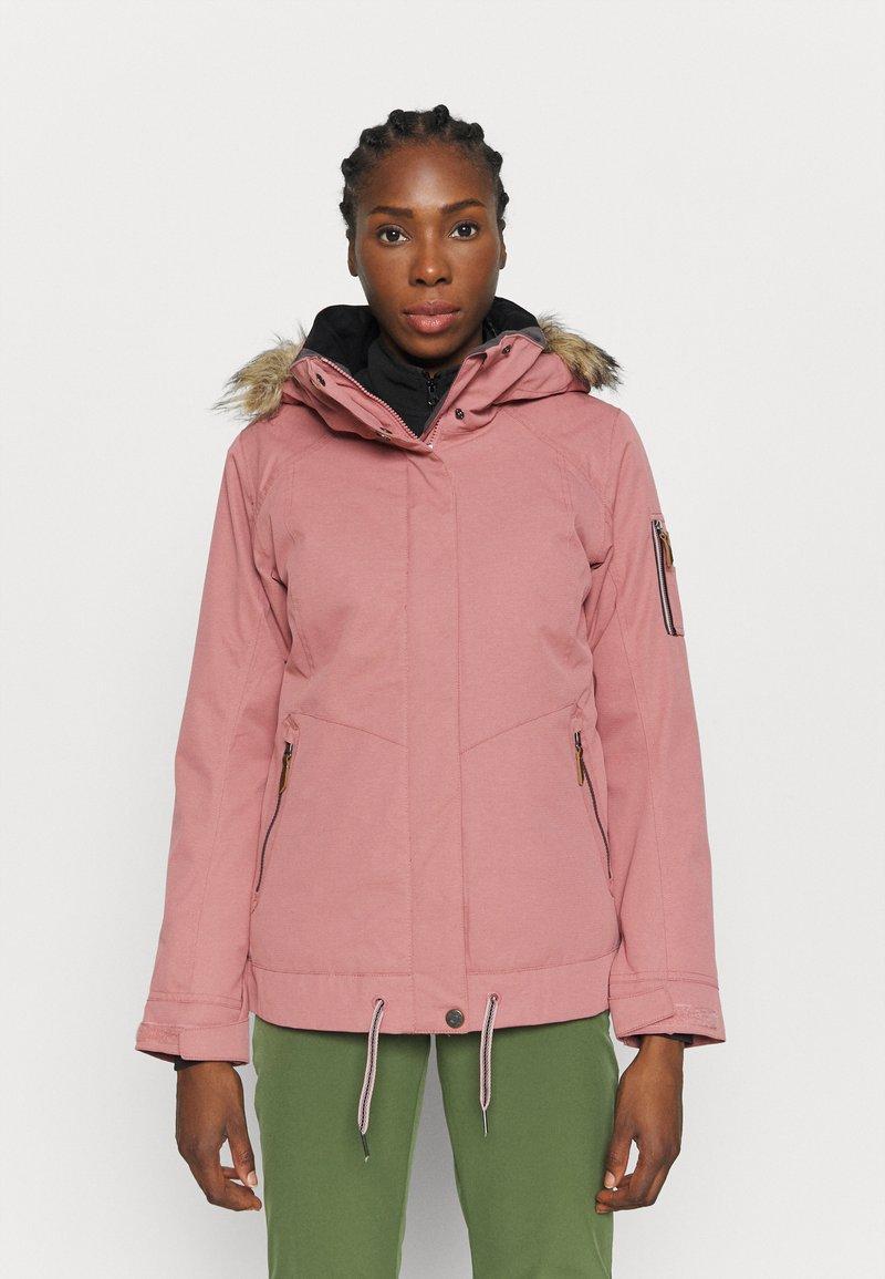 Roxy - MEADE - Snowboard jacket - dusty rose