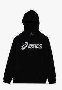 ASICS - BIG HOODIE - Jersey con capucha - performance black/brilliant white - 0