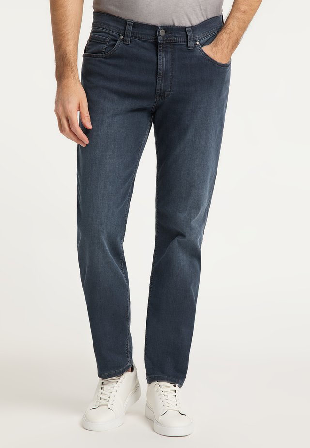 Straight leg jeans - dark used