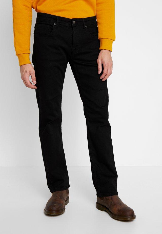 KLAAS - Jeans Straight Leg - swart