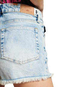 Superdry - HOT - Denim shorts - embroidery and repair - 3