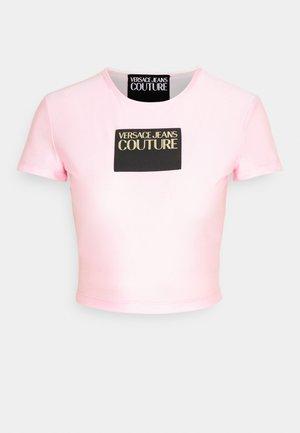 LADY - Triko spotiskem - pink confetti