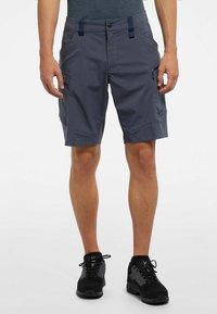 Haglöfs - MID FJELL SHORTS - Shorts - dense blue - 0