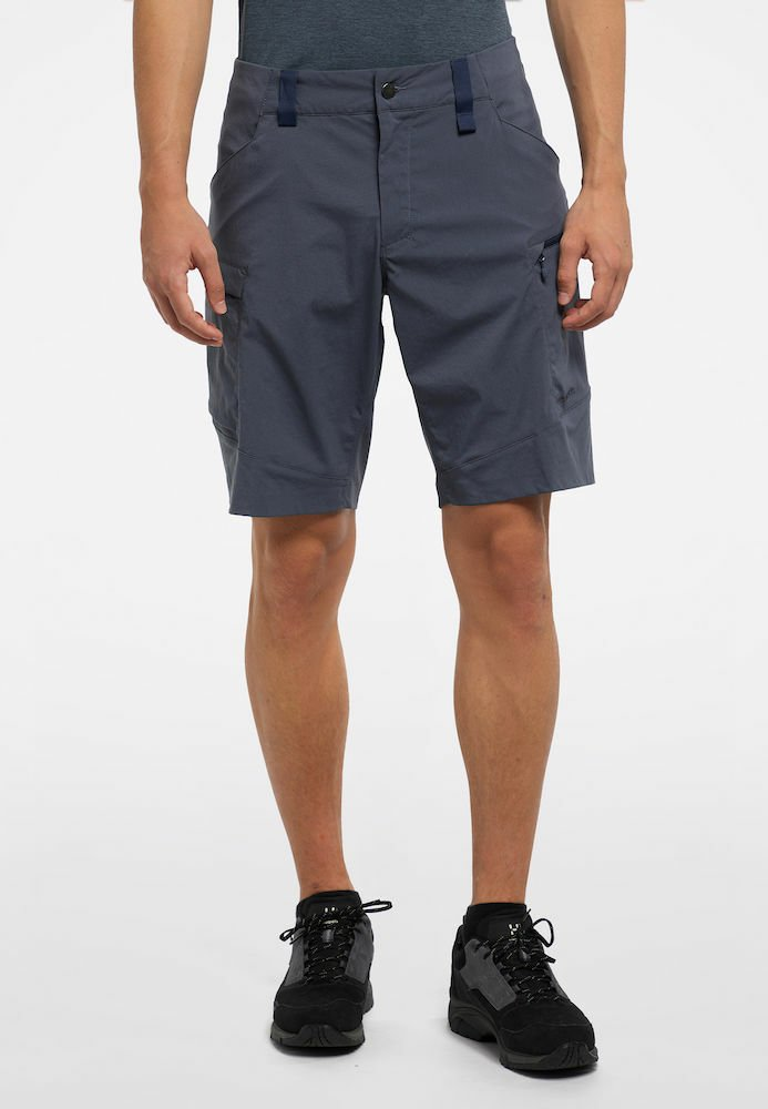 Haglöfs - MID FJELL SHORTS - Shorts - dense blue