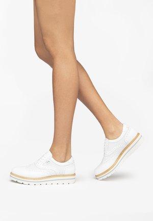 Casual lace-ups - bianco