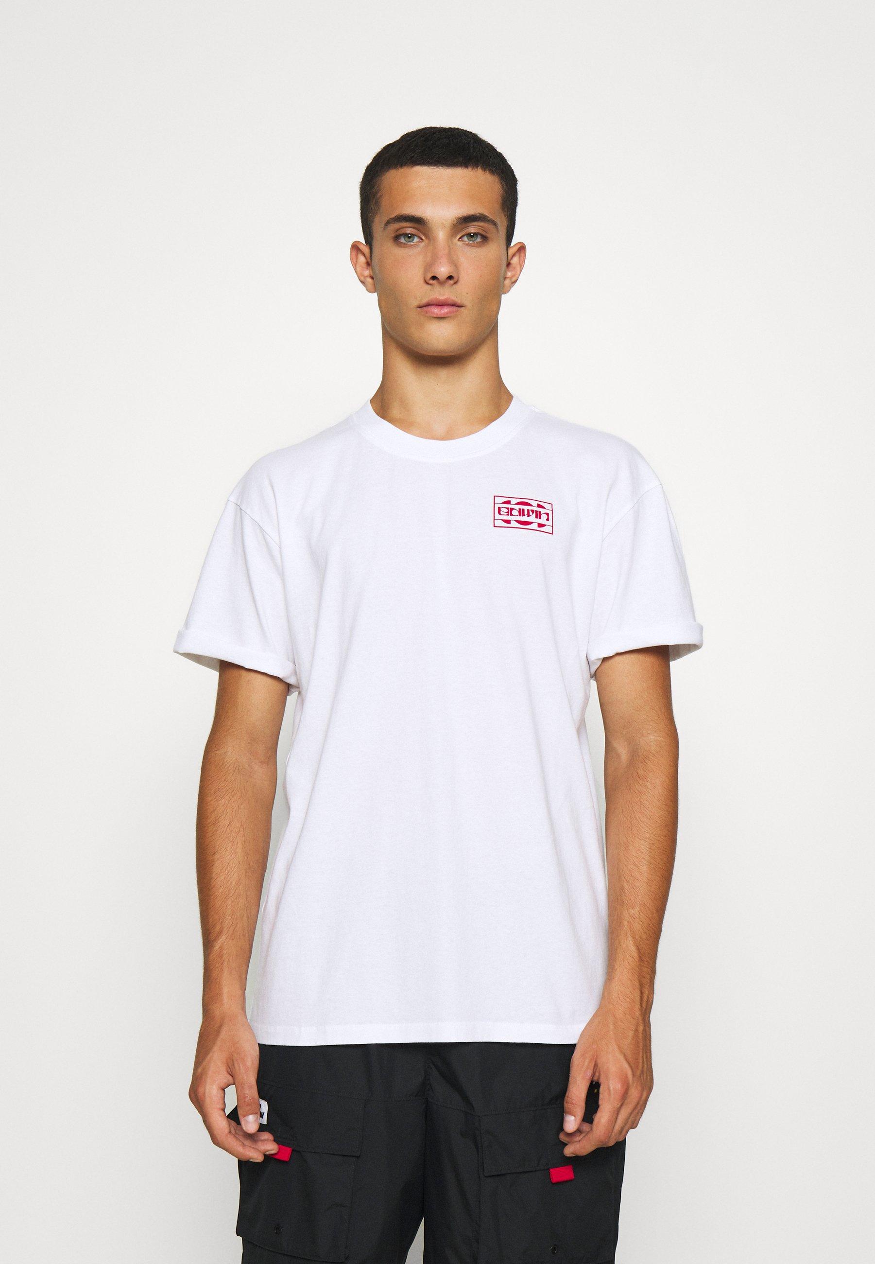 Women SUNRIDDIM  UNISEX - Print T-shirt - white