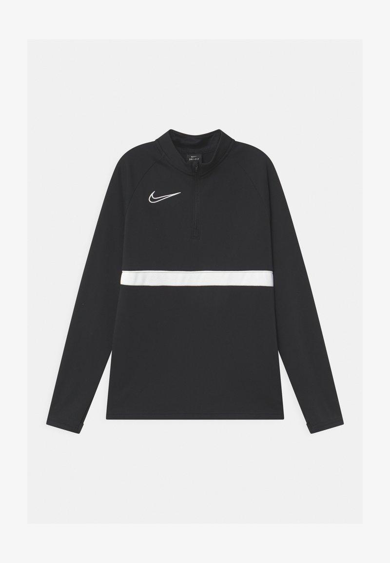 Nike Performance - ACADEMY DRIL UNISEX - Sports shirt - black/white