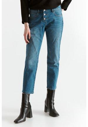 Kalhoty - navy blue