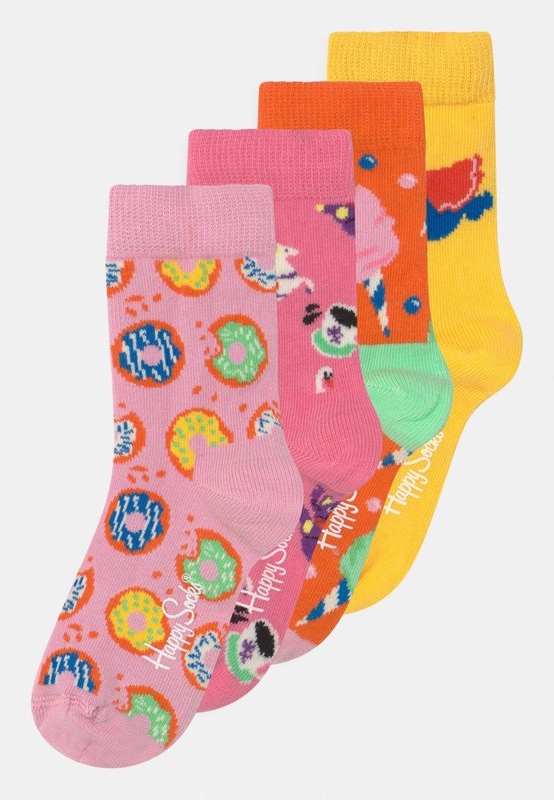 Happy Socks - ELEFANT PARTY 4 PACK - Ponožky - multicoloured