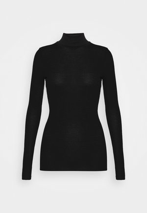Turtleneck - Jersey de punto - black dark