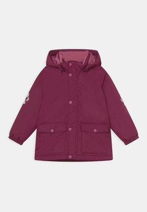 MINI JACKET 3D EFFECT UNISEX - Winter jacket - dark lilac
