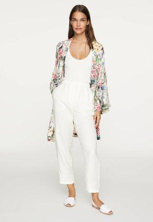 WOODLAND - Summer jacket - white