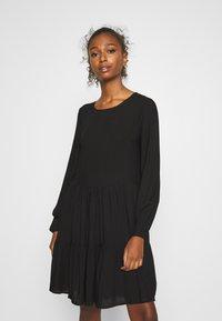 JDY - JDYPEANUT DRESS - Day dress - black - 0