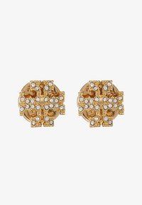 Tory Burch - KIRA PAVE STUD EARRING - Korvakorut - gold-coloured /crystal - 3