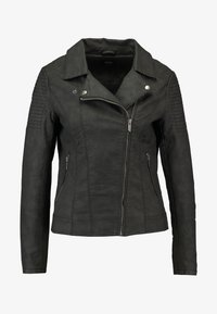 ONLY - ONLMEGAN BIKER - Faux leather jacket - black - 4