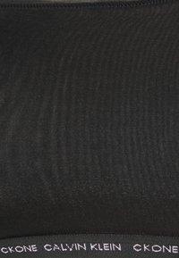 Calvin Klein Underwear - ONE GLISTEN UNLINED BRALETTE - Alustoppi - black - 5