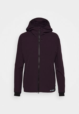 Soft shell jacket - purple