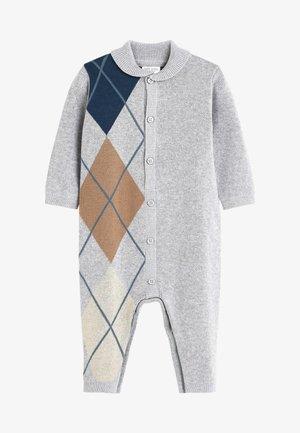 ARGYLE - Jumpsuit - grey