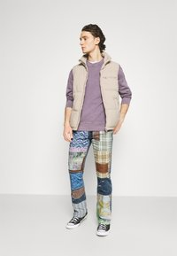 Jaded London - REWORKED PATCHWORK  - Jean bootcut - blue - 1
