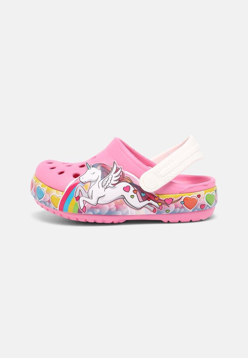 Crocs - FL UNICORN LIGHTS - Mules - pink lemonade