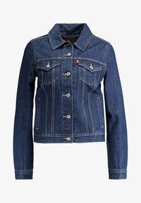 Levi's® - ORIGINAL TRUCKER - Giacca di jeans - clean dark authentic - 3
