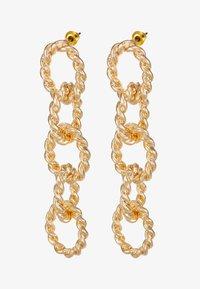 Topshop - ROPE LINK DROP - Oorbellen - gold-coloured - 3