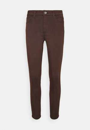 Slim fit jeans - chocolate