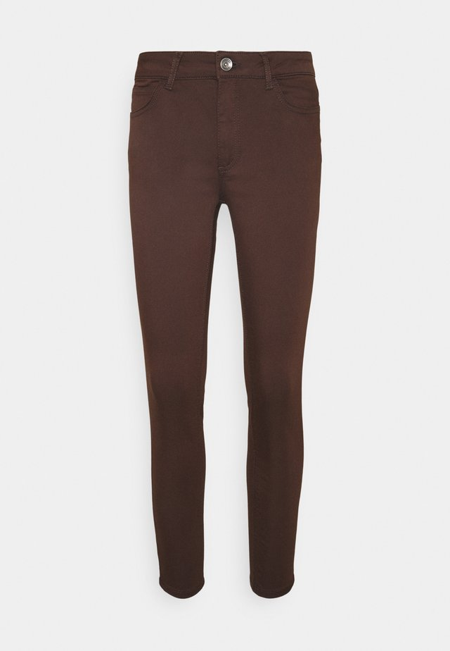 Jeans slim fit - chocolate